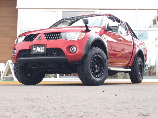 三菱 トライトン ベースグレード4WD リアバンパーガード HID 禁煙車