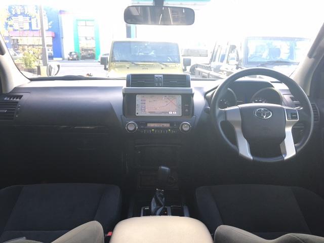 トヨタ ランドクルーザープラド TXワンオーナー サンルーフ 純正ナビ Bluetooth