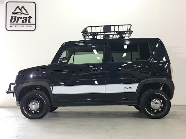 Xターボ4WD新品ホワイトレターリフトUPディーラーOPナビ(4枚目)