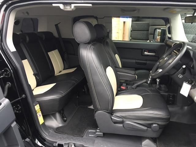トヨタ FJクルーザー ベースグレード リフトアップ MKW17インチ ルーフラック