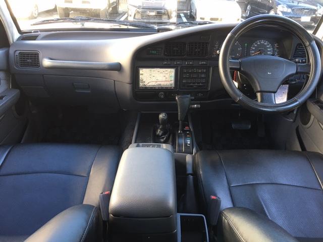 トヨタ ランドクルーザー80 VXリミテッド サンルーフ HDDナビ デフロック ETC