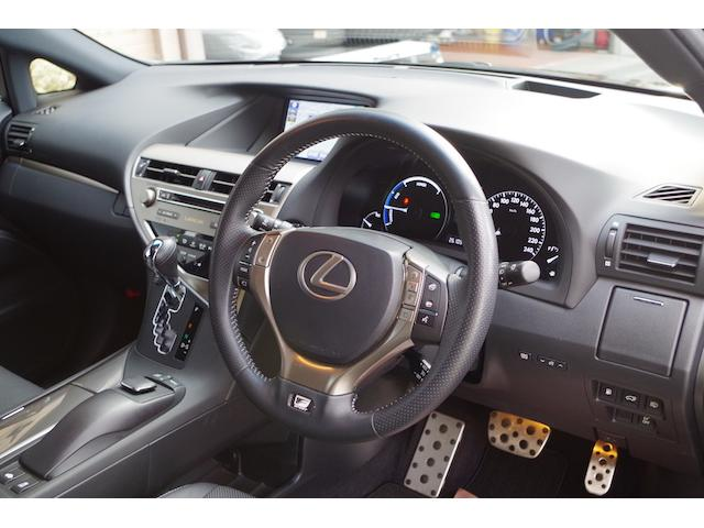 レクサス RX RX450hFスポーツ 4WD ワンオーナー 革シート