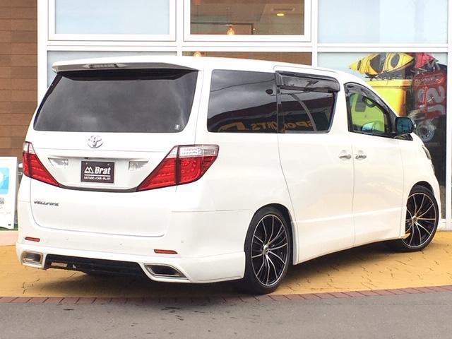 2.4Z プラチナムセレクション4WD 新品タナベ車高調(6枚目)