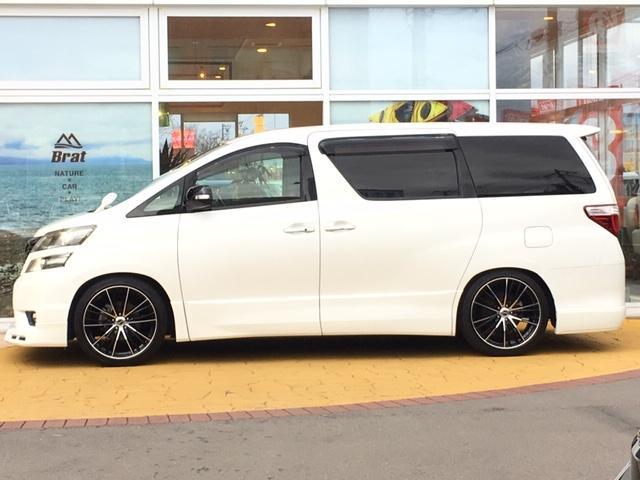 2.4Z プラチナムセレクション4WD 新品タナベ車高調(8枚目)