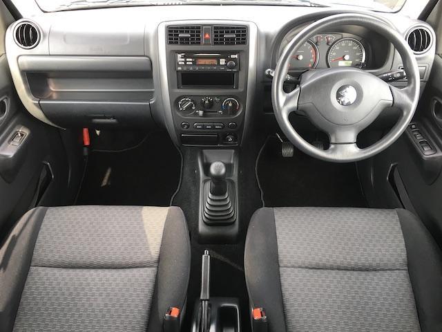 XC ワンオーナー 切替4WD ターボ リフトアップ 純正オーディオ 電動格納ミラーフォグランプ ミラーヒーター ルーフレール 純正フロアマット キーレス  フォーバイフォーエンジニアリング16インチAW(4枚目)