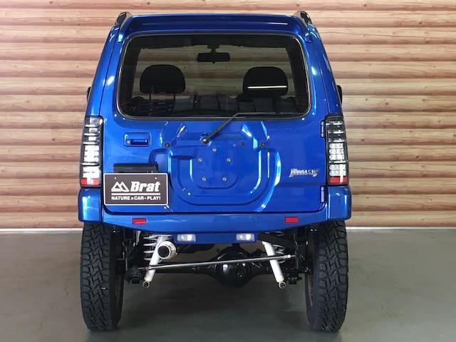 XC ワンオーナー 切替4WD ターボ リフトアップ 純正オーディオ 電動格納ミラーフォグランプ ミラーヒーター ルーフレール 純正フロアマット キーレス  フォーバイフォーエンジニアリング16インチAW(20枚目)