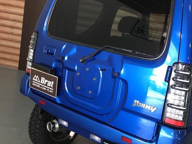 XC ワンオーナー 切替4WD ターボ リフトアップ 純正オーディオ 電動格納ミラーフォグランプ ミラーヒーター ルーフレール 純正フロアマット キーレス  フォーバイフォーエンジニアリング16インチAW(30枚目)