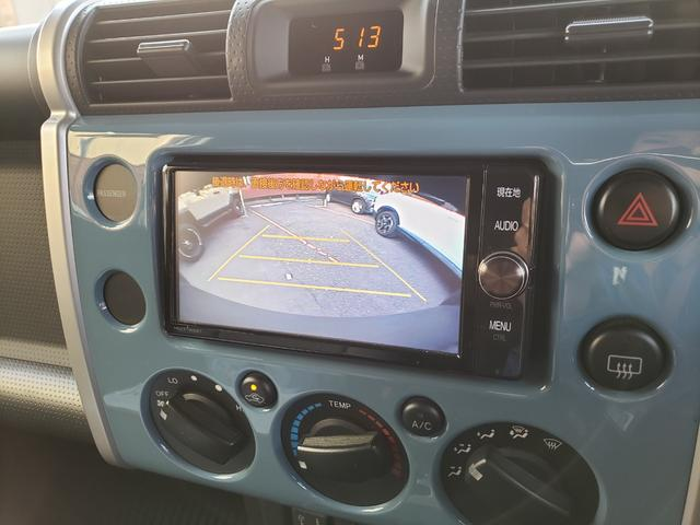 ベースグレード ツートンスモーキーブルー ルーフラック フォグランプ A-TRAC 革調シートカバー Tコネクト対応純正SDナビ フルセグ バックカメラ ステアスイッチ クルーズコントロール ETC 純正ホイール(6枚目)