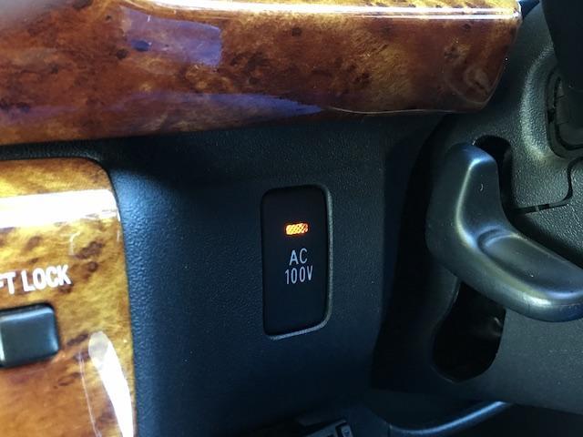 GL 4WD ローダウン ブラックアウトカスタム インナーブラックヘッドライト パワスラ トーヨーH20ホワイトレター フリップダウンモニター オーバーフェンダー ウッドコンビハンドル 木目調パネル(43枚目)