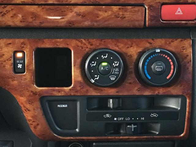 GL 4WD ローダウン ブラックアウトカスタム インナーブラックヘッドライト パワスラ トーヨーH20ホワイトレター フリップダウンモニター オーバーフェンダー ウッドコンビハンドル 木目調パネル(45枚目)
