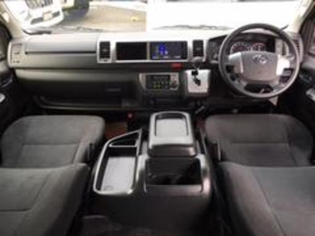 トヨタ ハイエースバン ロングワイドスーパーGL4WDモデリスタ LEDヘッドライト