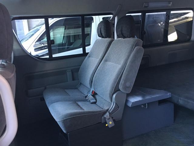トヨタ ハイエースワゴン GL4WD ホワイトレター ローダウン ベッドキット