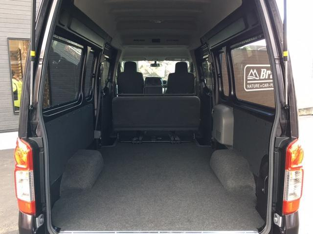 日産 NV350キャラバンバン スーパーロングDXターボ 4WD 寒冷地仕様 ローダウン