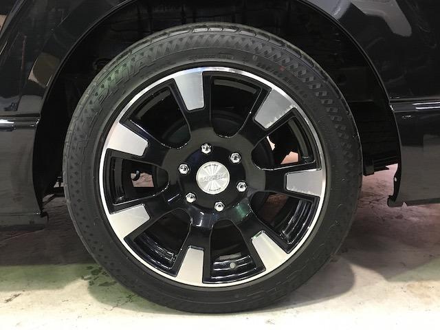 GL 4WD エセックス18AW モデリスタフロントスポイラー&グリル ローダウン 100V電源 LEDヘッドライト パワースライドドア スマートキー 新品ALPINEフリップダウンモニター 新品シートカバ(11枚目)