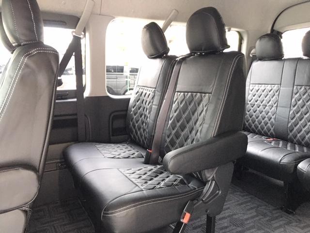 GL 4WD エセックス18AW モデリスタフロントスポイラー&グリル ローダウン 100V電源 LEDヘッドライト パワースライドドア スマートキー 新品ALPINEフリップダウンモニター 新品シートカバ(43枚目)