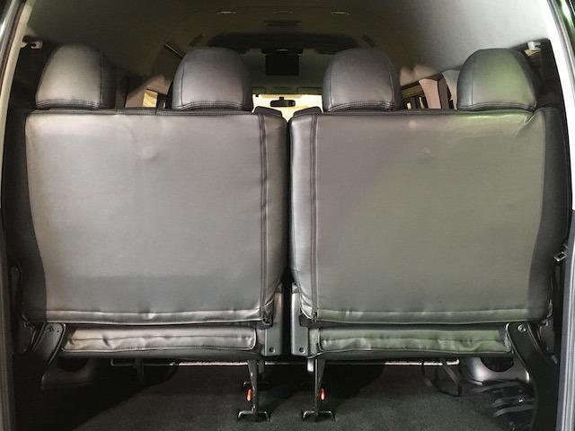 グランドキャビン 特別架装車ファインテックツアラー 4WD 新品バルベロ17インチAW 新品ナスカーイーグル1 全席シートカバー アルパインメモリナビ アルパインフリップダウンモニター 片側パワースライドドア(24枚目)