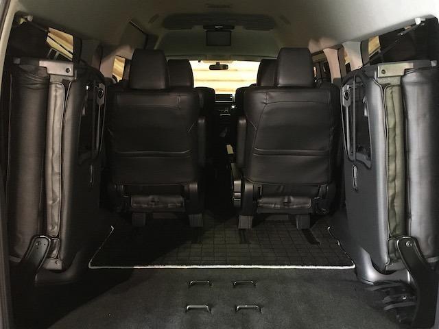 グランドキャビン 特別架装車ファインテックツアラー 4WD 新品バルベロ17インチAW 新品ナスカーイーグル1 全席シートカバー アルパインメモリナビ アルパインフリップダウンモニター 片側パワースライドドア(25枚目)