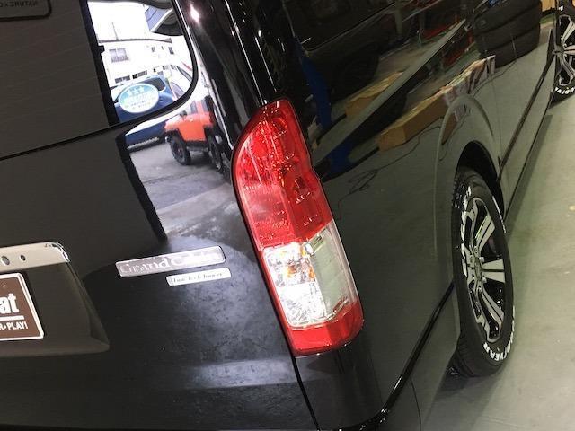 グランドキャビン 特別架装車ファインテックツアラー 4WD 新品バルベロ17インチAW 新品ナスカーイーグル1 全席シートカバー アルパインメモリナビ アルパインフリップダウンモニター 片側パワースライドドア(33枚目)