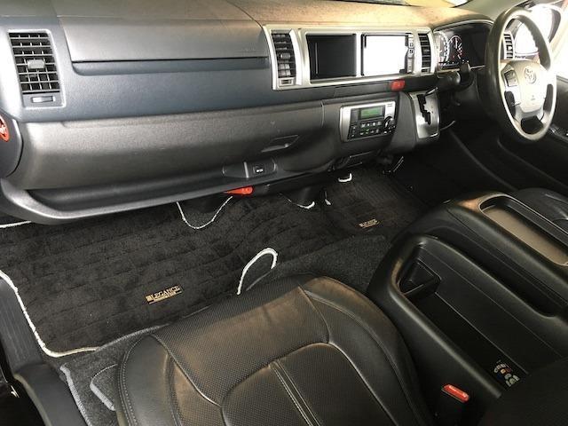 グランドキャビン 特別架装車ファインテックツアラー 4WD 新品バルベロ17インチAW 新品ナスカーイーグル1 全席シートカバー アルパインメモリナビ アルパインフリップダウンモニター 片側パワースライドドア(47枚目)