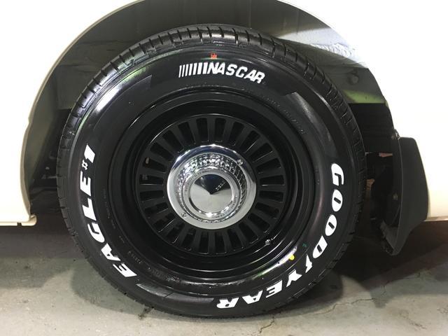 DX 4WD ローダウン1.5インチ ホイール/DEANカリフォルニア新品 タイヤ/グッドイヤーイーグル#1ナスカー16インチ新品 木目調ガングリップステアリング/シフトノブ/インテリアパネル LEDテール(20枚目)