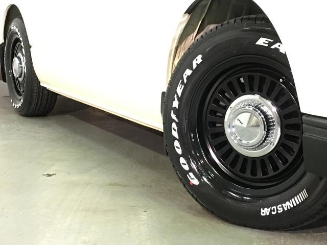DX 4WD ローダウン1.5インチ ホイール/DEANカリフォルニア新品 タイヤ/グッドイヤーイーグル#1ナスカー16インチ新品 木目調ガングリップステアリング/シフトノブ/インテリアパネル LEDテール(62枚目)