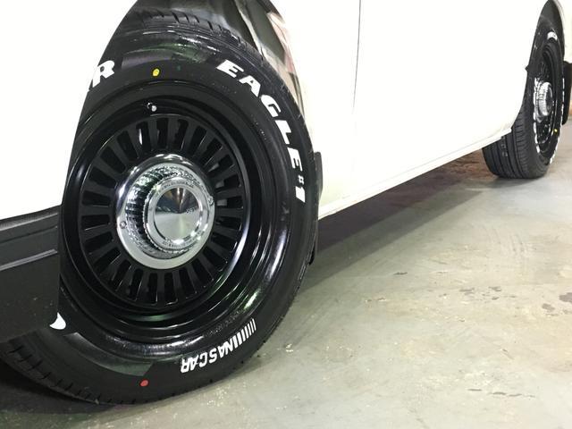 DX 4WD ローダウン1.5インチ ホイール/DEANカリフォルニア新品 タイヤ/グッドイヤーイーグル#1ナスカー16インチ新品 木目調ガングリップステアリング/シフトノブ/インテリアパネル LEDテール(63枚目)