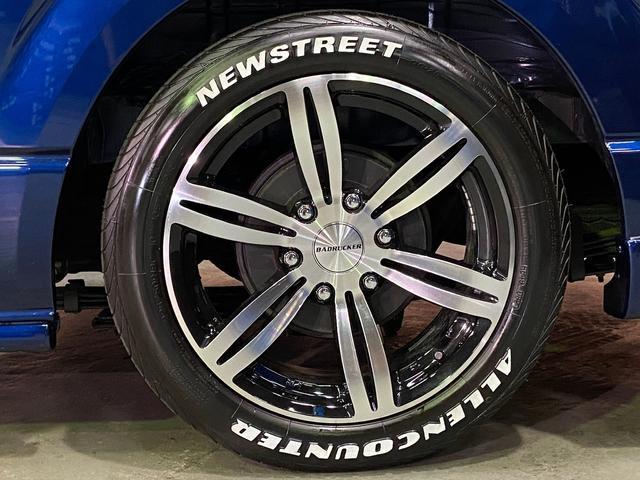 ロングスーパーGL 5型4WD ディーゼル 1.5インチローダウン RoadsterLUXMODELエアロ 415コブラアルミホイール トヨタセーフティセンス 両側パワスラ ビルトインETC2.0 ドラレコ 純正SDナビ(21枚目)