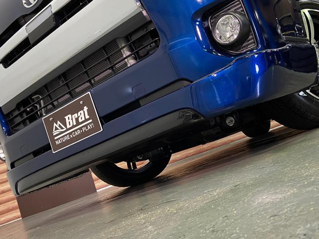 ロングスーパーGL 5型4WD ディーゼル 1.5インチローダウン RoadsterLUXMODELエアロ 415コブラアルミホイール トヨタセーフティセンス 両側パワスラ ビルトインETC2.0 ドラレコ 純正SDナビ(28枚目)