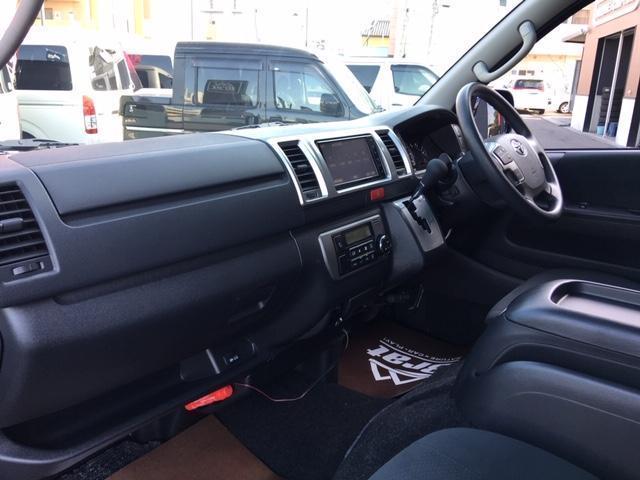 ロングスーパーGL 5型4WD ディーゼル 1.5インチローダウン RoadsterLUXMODELエアロ 415コブラアルミホイール トヨタセーフティセンス 両側パワスラ ビルトインETC2.0 ドラレコ 純正SDナビ(39枚目)