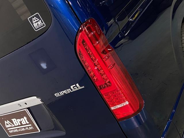 ロングスーパーGL 5型4WD ディーゼル 1.5インチローダウン RoadsterLUXMODELエアロ 415コブラアルミホイール トヨタセーフティセンス 両側パワスラ ビルトインETC2.0 ドラレコ 純正SDナビ(52枚目)