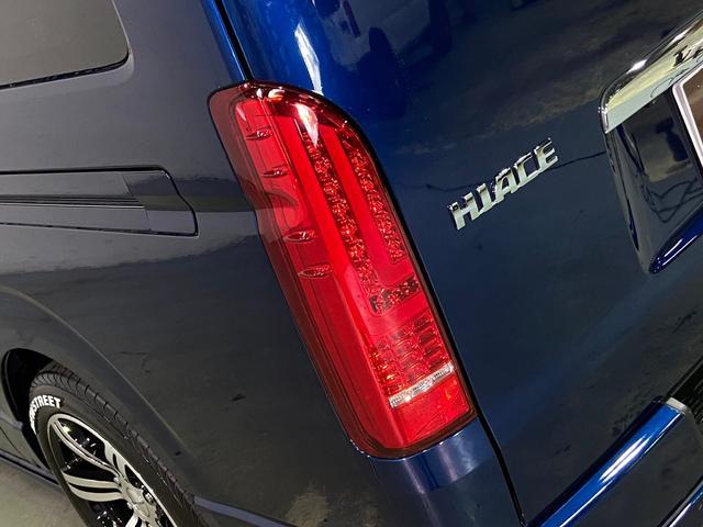 ロングスーパーGL 5型4WD ディーゼル 1.5インチローダウン RoadsterLUXMODELエアロ 415コブラアルミホイール トヨタセーフティセンス 両側パワスラ ビルトインETC2.0 ドラレコ 純正SDナビ(53枚目)