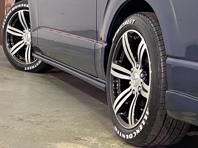 ロングスーパーGL 5型4WD ディーゼル 1.5インチローダウン RoadsterLUXMODELエアロ 415コブラアルミホイール トヨタセーフティセンス 両側パワスラ ビルトインETC2.0 ドラレコ 純正SDナビ(56枚目)
