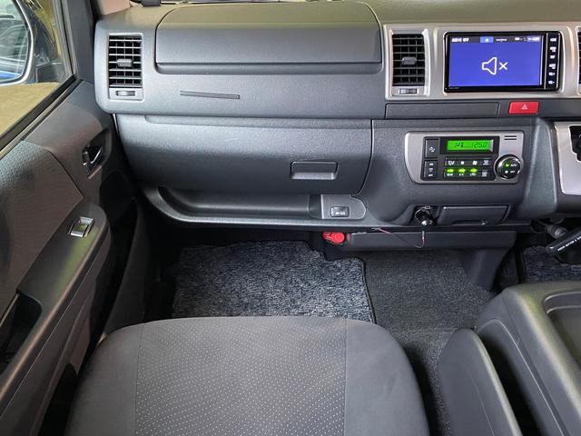 ロングスーパーGL 5型4WD ディーゼル 1.5インチローダウン RoadsterLUXMODELエアロ 415コブラアルミホイール トヨタセーフティセンス 両側パワスラ ビルトインETC2.0 ドラレコ 純正SDナビ(67枚目)