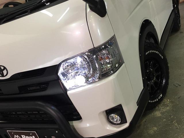 スーパーGL ダークプライムII 4WD 5型 ディーゼル BFグッドリッチA/Tタイヤ16インチ新品&WEDSマッドヴァンス06ホイール ブルバー フロントスポイラー 両側パワスラ プリクラッシュセーフティ オートマチックハイビーム(35枚目)