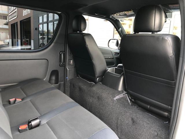 スーパーGL ダークプライムII 4WD 5型 ディーゼル BFグッドリッチA/Tタイヤ16インチ新品&WEDSマッドヴァンス06ホイール ブルバー フロントスポイラー 両側パワスラ プリクラッシュセーフティ オートマチックハイビーム(42枚目)