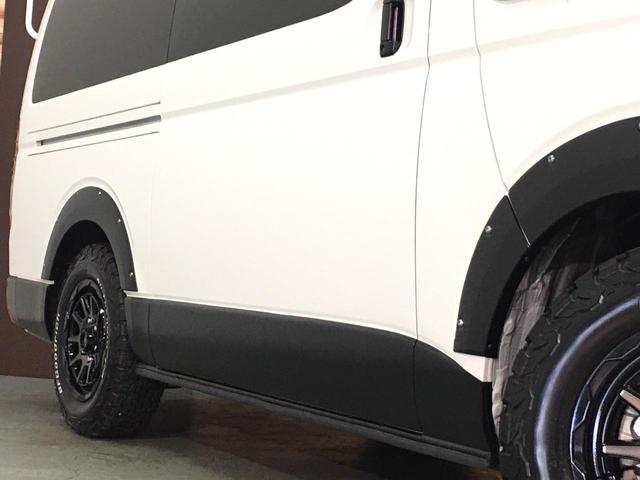 スーパーGL ダークプライムII 4WD 5型 ディーゼル BFグッドリッチA/Tタイヤ16インチ新品&WEDSマッドヴァンス06ホイール ブルバー フロントスポイラー 両側パワスラ プリクラッシュセーフティ オートマチックハイビーム(66枚目)
