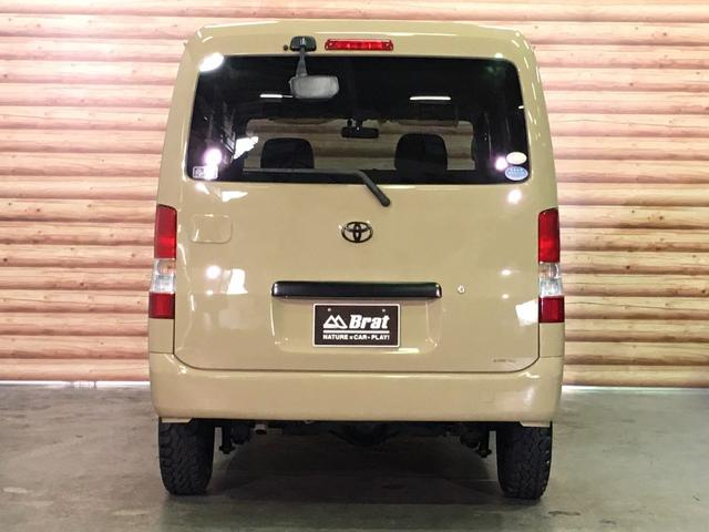 GL NEWペイント/ベージュ トランクフロアフローリング仕様 40ミリリフトアップ ウッドコンビハンドル マキシスバックショット 全塗装済 SDナビ 黒革調シートカバー エクストリームJ14インチアルミ(9枚目)