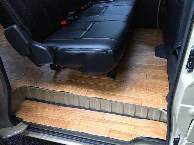 GL NEWペイント/ベージュ トランクフロアフローリング仕様 40ミリリフトアップ ウッドコンビハンドル マキシスバックショット 全塗装済 SDナビ 黒革調シートカバー エクストリームJ14インチアルミ(28枚目)
