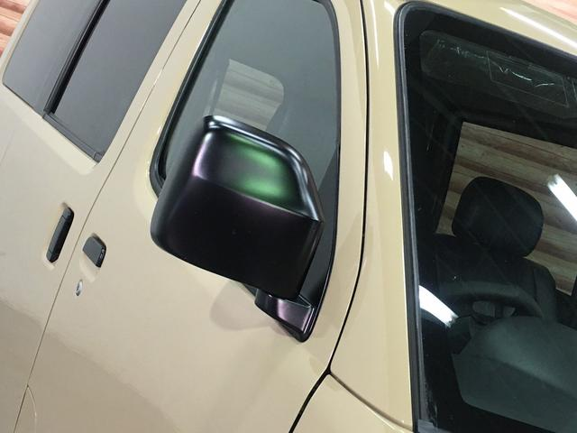 GL NEWペイント/ベージュ トランクフロアフローリング仕様 40ミリリフトアップ ウッドコンビハンドル マキシスバックショット 全塗装済 SDナビ 黒革調シートカバー エクストリームJ14インチアルミ(30枚目)