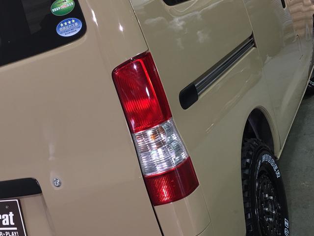 GL NEWペイント/ベージュ トランクフロアフローリング仕様 40ミリリフトアップ ウッドコンビハンドル マキシスバックショット 全塗装済 SDナビ 黒革調シートカバー エクストリームJ14インチアルミ(43枚目)