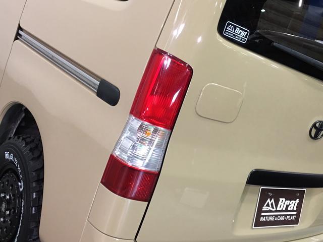 GL NEWペイント/ベージュ トランクフロアフローリング仕様 40ミリリフトアップ ウッドコンビハンドル マキシスバックショット 全塗装済 SDナビ 黒革調シートカバー エクストリームJ14インチアルミ(44枚目)