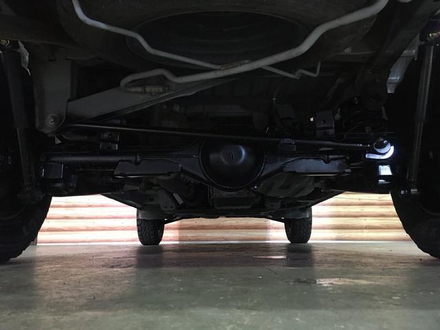 GL NEWペイント/ベージュ トランクフロアフローリング仕様 40ミリリフトアップ ウッドコンビハンドル マキシスバックショット 全塗装済 SDナビ 黒革調シートカバー エクストリームJ14インチアルミ(49枚目)