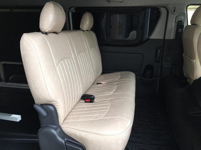 ロングワイドスーパーGL 4WD 6型 ワイドボディ 1ナンバー ベッドキット ホイール ガルシアシスコ タイヤ トーヨーH20ホワイトリボン グリルガード プリクラッシュセーフティ 純正SDナビ Bカメラ ビルトインETC(14枚目)