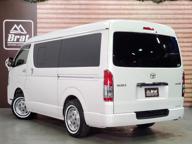 ロングワイドスーパーGL 4WD 6型 ワイドボディ 1ナンバー ベッドキット ホイール ガルシアシスコ タイヤ トーヨーH20ホワイトリボン グリルガード プリクラッシュセーフティ 純正SDナビ Bカメラ ビルトインETC(33枚目)