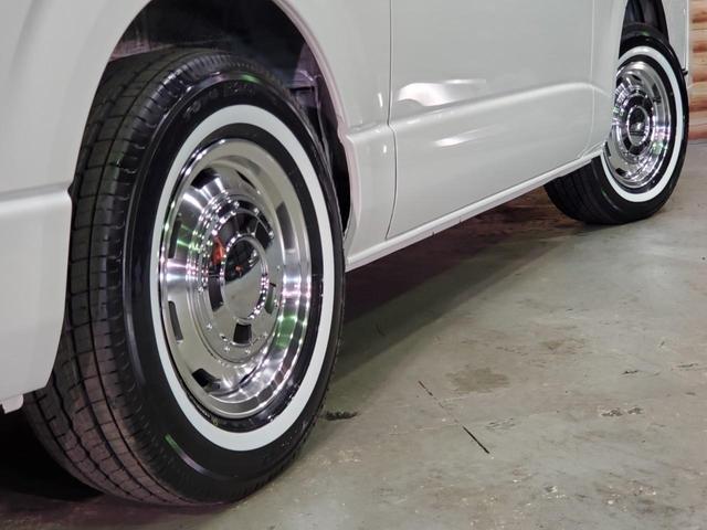 ロングワイドスーパーGL 4WD 6型 ワイドボディ 1ナンバー ベッドキット ホイール ガルシアシスコ タイヤ トーヨーH20ホワイトリボン グリルガード プリクラッシュセーフティ 純正SDナビ Bカメラ ビルトインETC(38枚目)