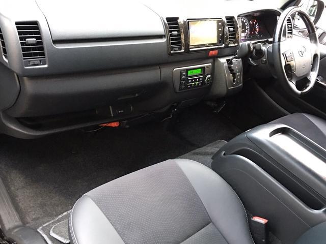 スーパーGL ダークプライム 4WD ベッドキット ESSEXエアロ ローダウン MKWMK-85&グッドイヤーイーグル1ナスカータイヤ(新品)バックカメラ ドラレコ LEDヘッドライト プッシュスタート 100V USBソケット(13枚目)