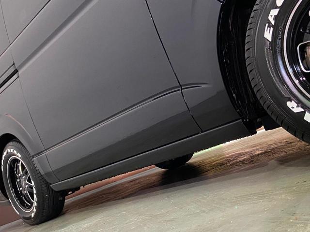 スーパーGL ダークプライム 4WD ベッドキット ESSEXエアロ ローダウン MKWMK-85&グッドイヤーイーグル1ナスカータイヤ(新品)バックカメラ ドラレコ LEDヘッドライト プッシュスタート 100V USBソケット(36枚目)