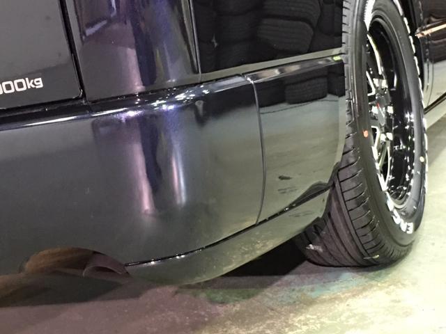 スーパーGL ダークプライム 4WD ベッドキット ESSEXエアロ ローダウン MKWMK-85&グッドイヤーイーグル1ナスカータイヤ(新品)バックカメラ ドラレコ LEDヘッドライト プッシュスタート 100V USBソケット(43枚目)