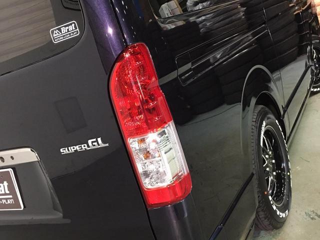 スーパーGL ダークプライム 4WD ベッドキット ESSEXエアロ ローダウン MKWMK-85&グッドイヤーイーグル1ナスカータイヤ(新品)バックカメラ ドラレコ LEDヘッドライト プッシュスタート 100V USBソケット(52枚目)