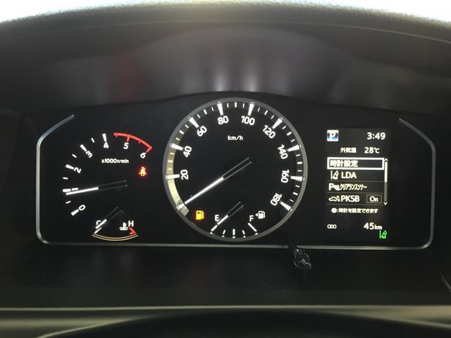 スーパーGL ダークプライムII 4WD6型 禁煙車 TRDフロント/サイドリアスポイラー 1.5インチローダウン デジタルインナーミラー プリクラッシュセーフティ レーンディパーチャーアラート オートマチックハイビーム 100V電源(6枚目)